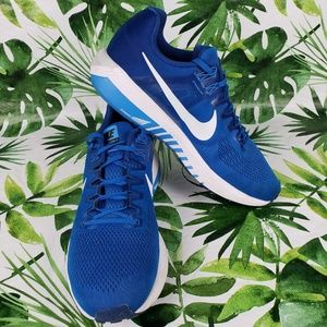 Nike  Zoom Structure 21 blue/white 12.5